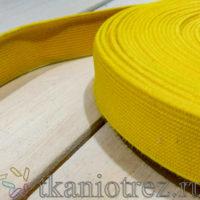 Резинка 20 мм. Желтая.