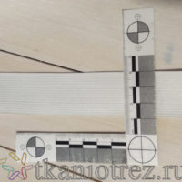 Резинка вязанная белая 30 мм.