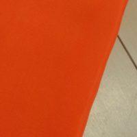 Ткань Oxford 210 PU ярко-оранжевого неонового цвета