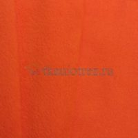 Флис антипиллинг. Оранжевый.